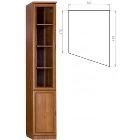 Шкаф для книг (консоль правая) Арт.  202.